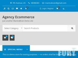 Тема WP Agency Ecommerce