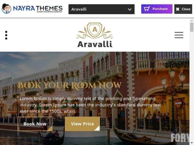 Aravalli - wordpress тема