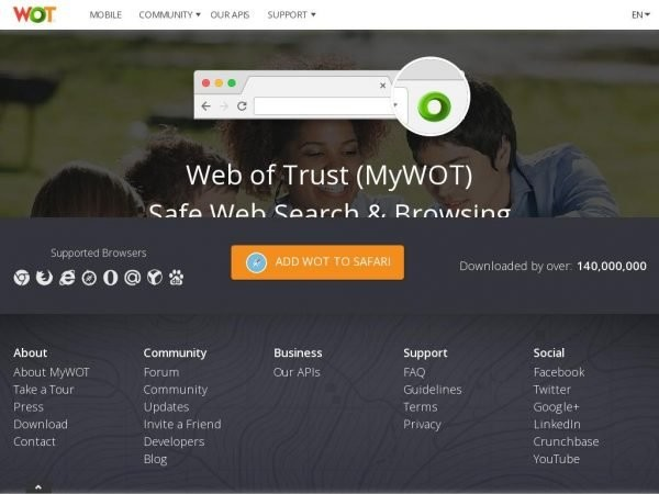 Безопасный Поиск и Просмотр сайтов в Интернете