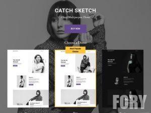Catch Sketch - это простая и отзывчивая многоцелевая тема WordPress.