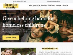 charity - шаблон WordPress