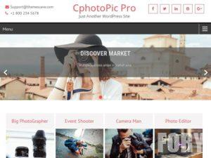 Тема WordPress CPhotoPic Lite от ThemesCave
