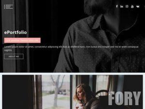 EPortfolio - это минималистская, оптимизированная многоцелевая тема WordPress Portfolio.