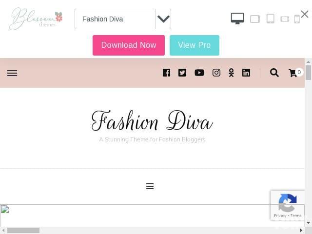 Fashion Diva - новая тема WordPress