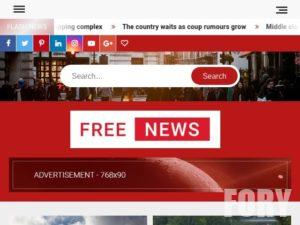 FreeNews - тема для сайта wordpress