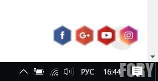 Іконки соціальних мереж WordPress