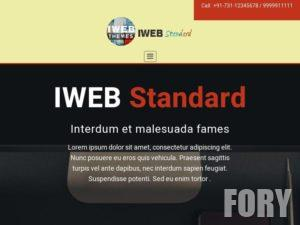 Тема WordPress IWEB Standard от IWEBDM