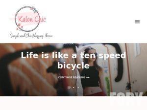 Тема WP Kalon Chic от Rara Theme