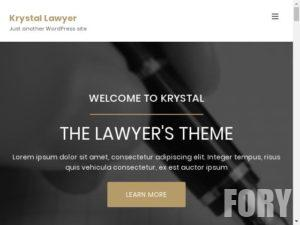 Тема вордпресс Krystal Lawyer