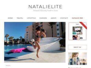 Тема WP NatalieLite