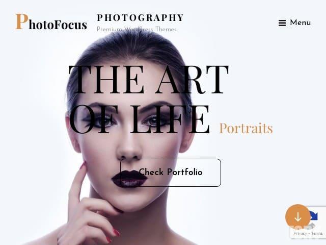 PhotoFocus Light - тема wordpress