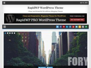 Шаблон WordPress RapidWP от ThemesDNA