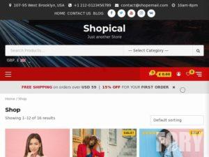 Тема WordPress Shopage от AF themes
