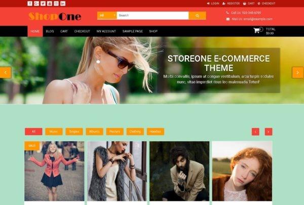 ShopOne - шаблони для інтернет-магазину