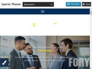 SpyroPress - нова тема Вордпресс